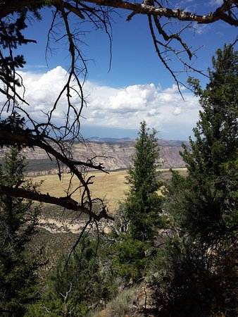 Dinosaur, CO: Viewpoint along Harpers Corner road