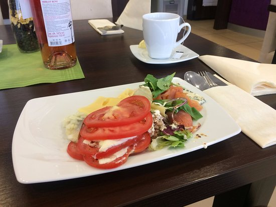 Brodnica, Pologne : Sniadanie