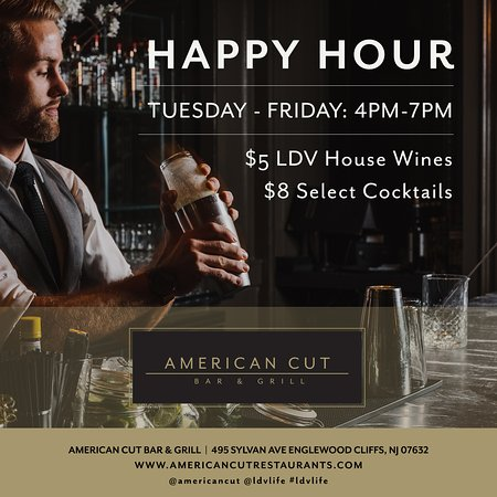 Englewood Cliffs, NJ: HAPPY HOUR