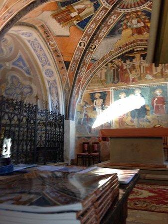 Bastia Mondovi, Italië: Presbiterio e cripta San Fiorenzo