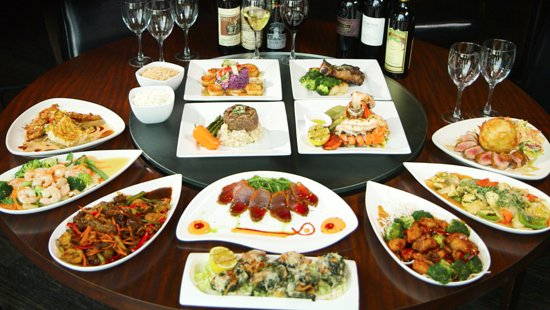 Sky Asian Fusion: Mixed entrees