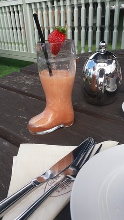 Brambles Coffee Shop: Welly Boot Smoothie