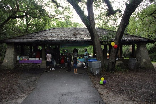 Greynolds Park: The park has this cabanas available for events! Very Comfortable spaces.