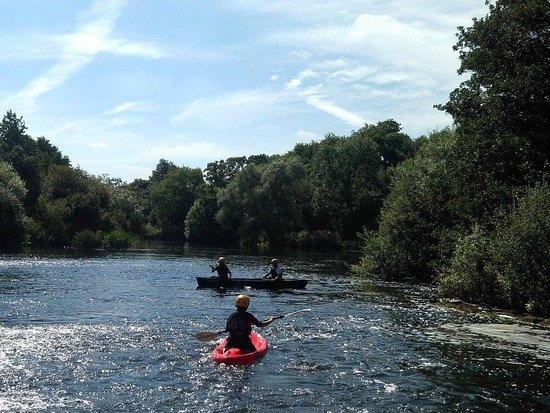 Kilkenny, Irland: Easy to book and to locate. Scenery beautiful. Instructors Rachel & Luke were great fun. A hidde