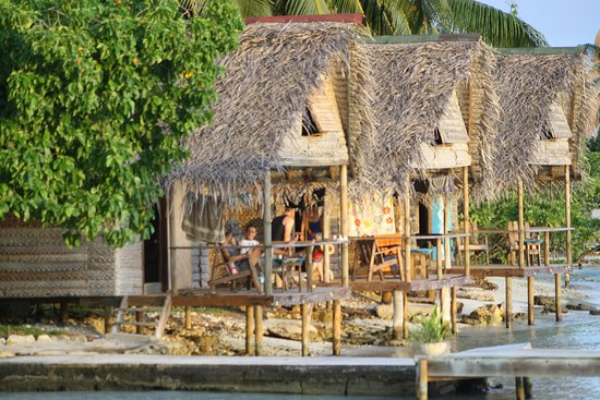 Kitchen photo de tetamanu village fakarava tripadvisor - Robinson crusoe style ...