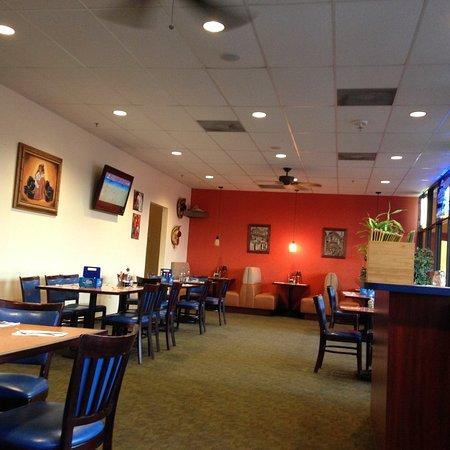 La Fonda Mexican Restaurant Interior Of