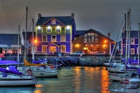 Aberaeron, UK: Aberaeron harbour