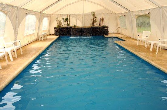 Caba as spa brisas serranas desde tandil for Precio piscina climatizada