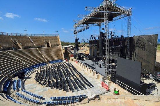 Cesarea, Israel: Amphitheatre