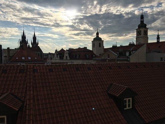Grand Hotel Bohemia: View from hotel room at Grand Bohemia
