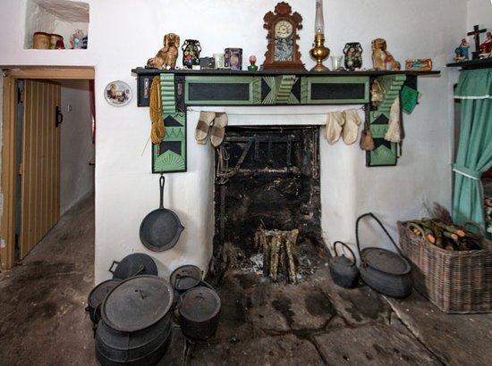 Jacks Old Cottage Fireplace