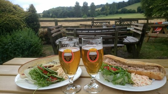 The Frog at Skirmett: Lunchtime baguettes