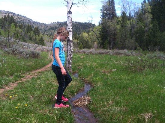 Logan, Utah: along the trail