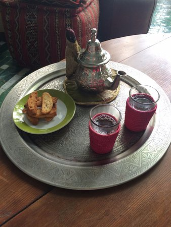 Riad Vert Marrakech: the best mint tea in my life :)
