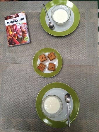 Riad Vert Marrakech: Desserts :)