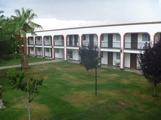 Nuevo Casas Grandes, Meksika: áreas verdes hotel Hacienda