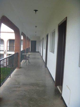 Nuevo Casas Grandes, Meksika: segundo piso hotel Hacienda