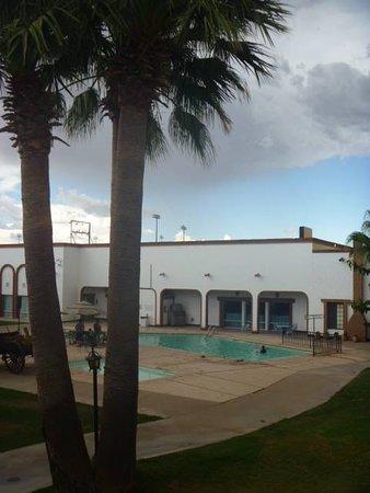 Nuevo Casas Grandes, Meksika: alberca Hotel Hacienda