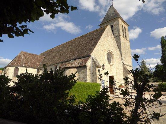 Rambouillet, Frankrig: eglise saint eloi des mesnuls