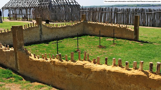 Jamestown Island: 1608 Memorial Church