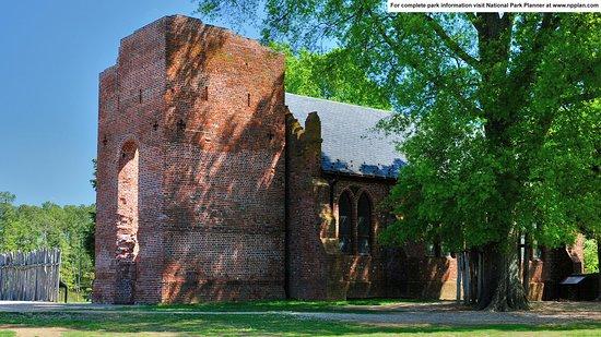 Jamestown Island: Old Church Tower