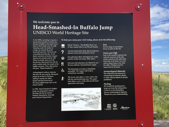 Head smashed in buffalo jump discount coupons