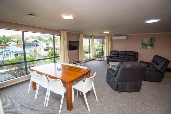 ‪‪Timaru‬, نيوزيلندا: Living/dining area of Homestead Lodge 3 bedroom Apartment‬