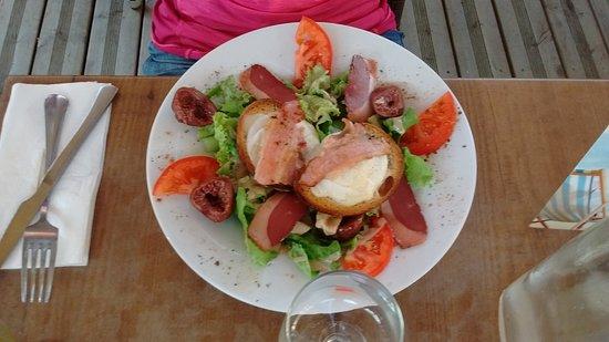 Salade spring photo de au bureau montauban tripadvisor