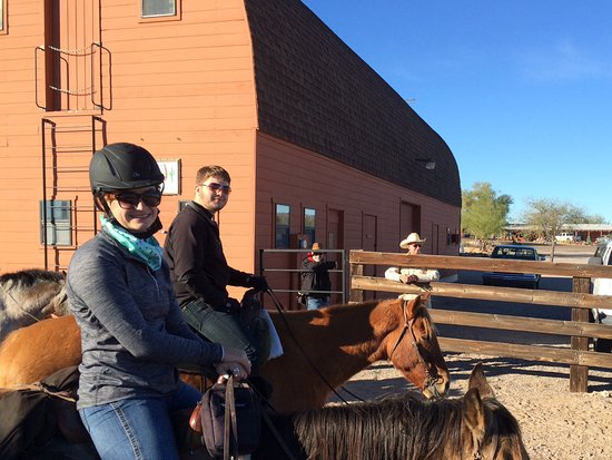 Flying E Ranch: Ready to go for another ride