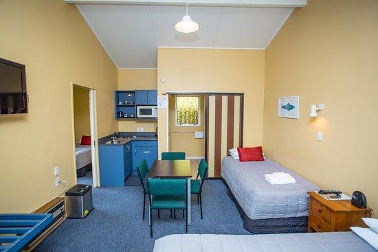 Timaru, Nueva Zelanda: Room 8, Studio with Kitchenette, sleeps up to 4 guests