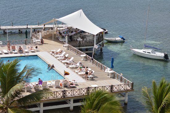 GHL Relax Hotel Sunrise: piscina vista de cima