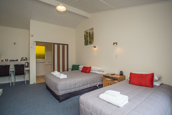 Timaru, Nuova Zelanda: Room 2 Studio sleeps up to 3 guests