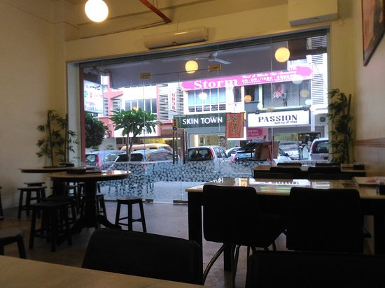 Skudai, มาเลเซีย: Outside view from the restaurant
