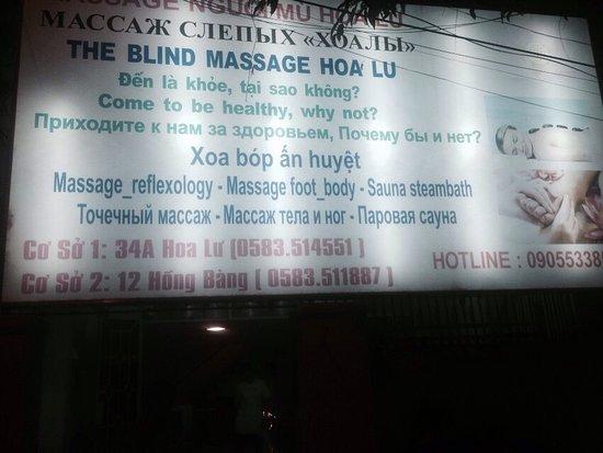 Blind Massage Hoa Lu