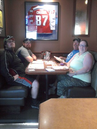 Boston Pizza: Birthday lunch for my oldest son.