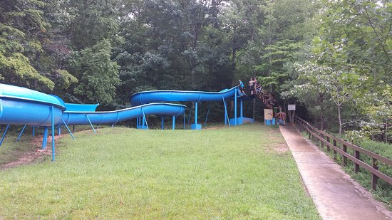 Yogi Bear's Jellystone Park Marion: This is the picture of the fun slide