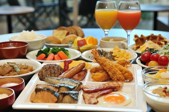 Dormy inn Premium Shibuya Jingumae: Western and Japanese Buffet (BREAKFAST)