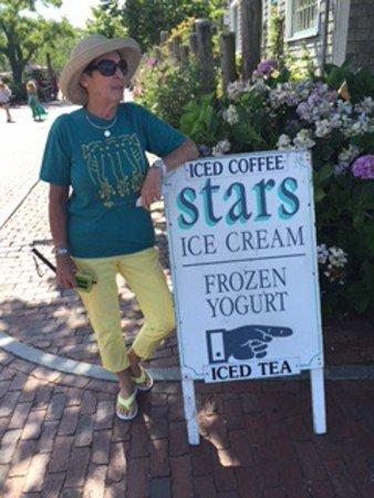 Good ice cream, nice view,  but pricey!