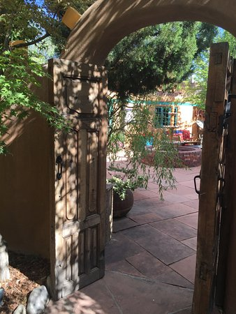 Inn of the Five Graces: Opens to main courtyard used by all guest - so lovely!