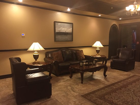 Gonzales, Τέξας: The beautiful lobby!