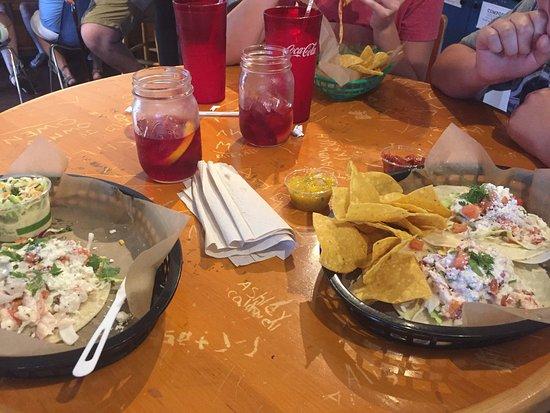 Quicks Hole Taqueria: Lobster Tacos and Sangria!