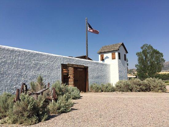 Покателло, Айдахо: The fort replica
