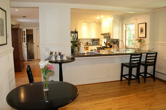 Bennington, Βερμόντ: Breakfast area
