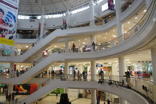 Interior view Ayala Mall Cebu Picture of Ayala Center Cebu Cebu