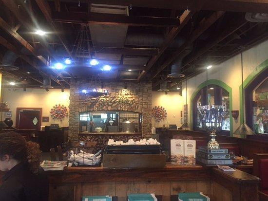 Athens, GA: Inside main dining area