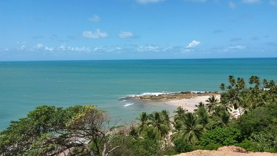 State of Paraiba: Vista do Mirante da Praia de Coqueirinhos