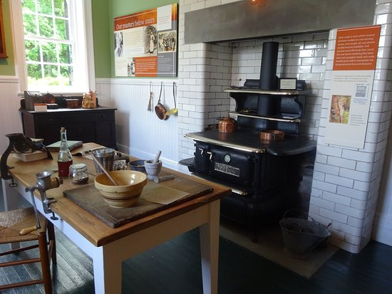 Lenox, MA: Kitchen at The Mount
