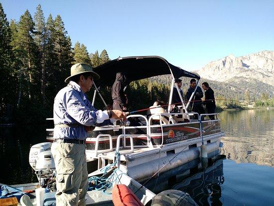 June Lake, Californien: Fishing Gull Lake