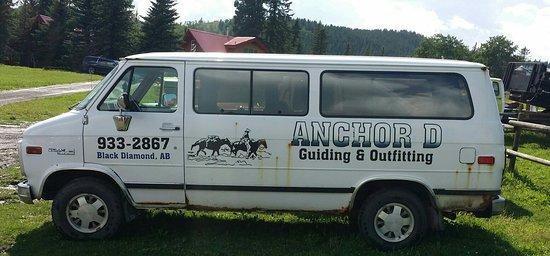 Black Diamond, Canadá: Anchor D Outfitting