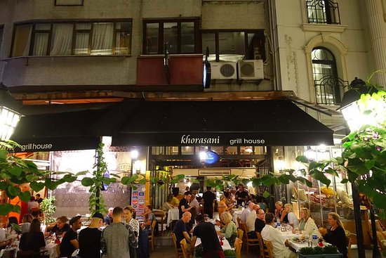 Khorasani Restaurant: Front of the restaurant